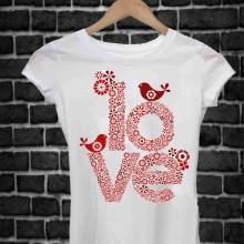 MAGLIETTA IN 100% COTONE UOMO/DONNA PER SAN VALENTINO: ME LOVE