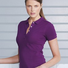 POLO DA DONNA STRETCH