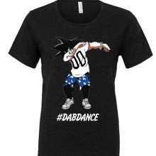 MAGLIETTA NERA 100% COTONE  DAB DANCE