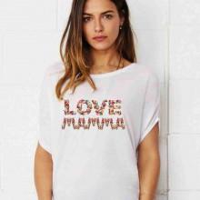 MAGLIETTA PER PREMAMAN, AMPIA VESTIBILITA' : FLOW LOVE