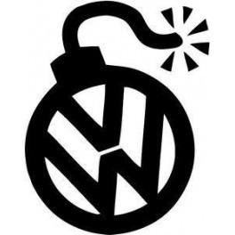 Autocolante Volkswagen Bomba