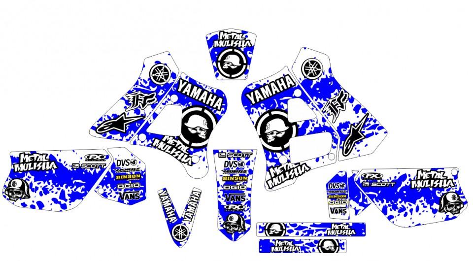 Stickers Yamaha Dtr 125 Para Moto Yamaha Dtr 125