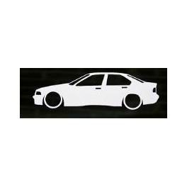 Autocolante - BMW E36 Limousine