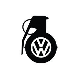 Autocolante com silhueta VW Granada