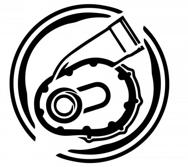 Autocolante - compressor (supercharger)