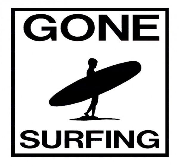 Imagens Autocolante - Gone Surfing