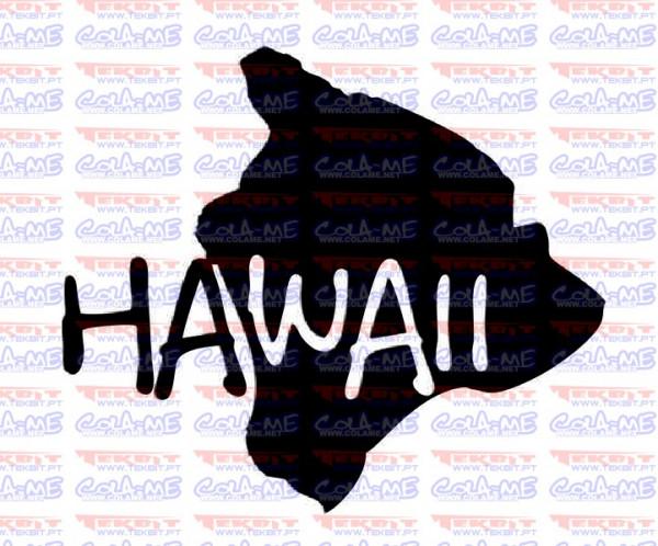 Autocolante - Hawaii