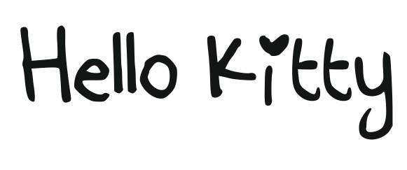 Imagens Autocolante - Hello KItty