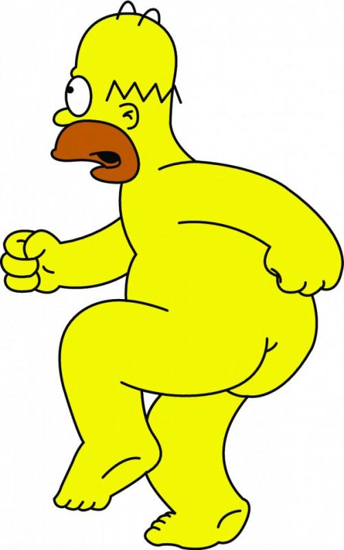 Imagens Autocolante Impresso - Homer Simpson 2