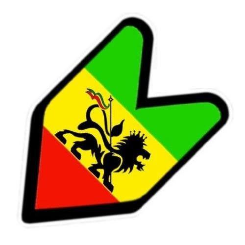 Imagens Autocolante Impresso - JDM Reggae