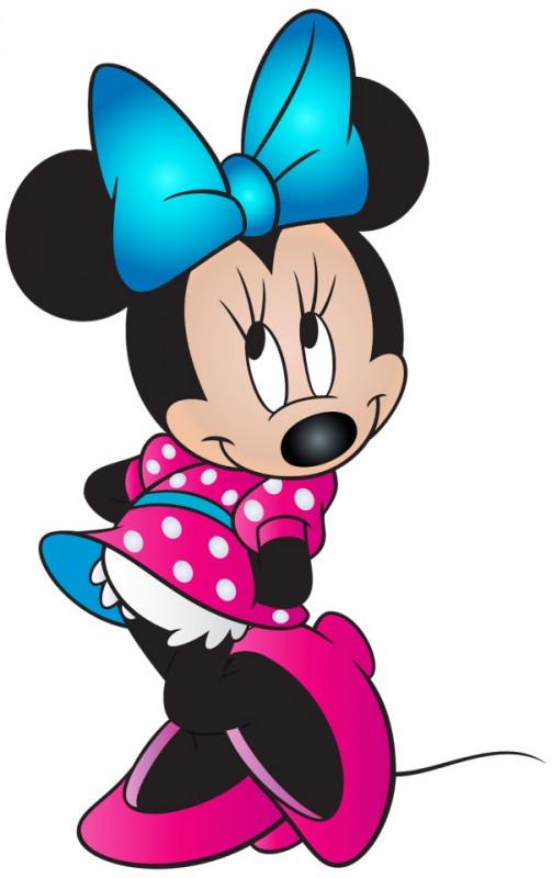 Imagens Autocolante Impresso - Minnie