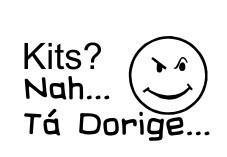 Autocolante - Kits? Nah...