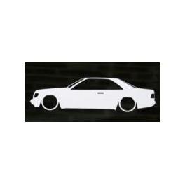 Autocolante - Mercedes E W124 Coupe