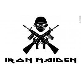 Autocolante Música - Iron Maiden 2