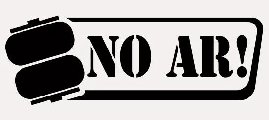 Autocolante - NO AR