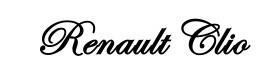 Autocolante - Renault Clio