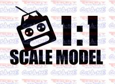 Autocolante - Scale Model 1:1