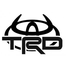 Autocolante - TRD - Toyota Racing Development 3