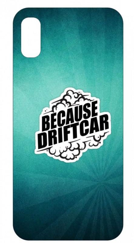 Capa de telemóvel com Because Driftcar
