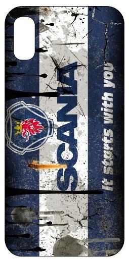 Imagens Capa de telemóvel com Scania - Retro