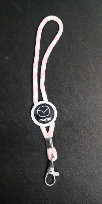 Imagens Fita Porta Chaves (lanyard) Ajustável para Mazda