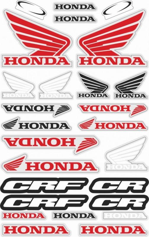 Imagens Folha / Pack de Autocolantes - Honda