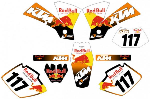 Kit Autocolantes Para  KTM SX / MX 01-03