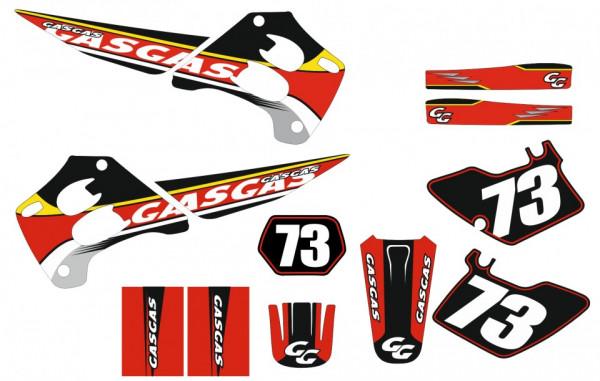 Kit Autocolantes Para Moto - Gas Gas MX 96-01