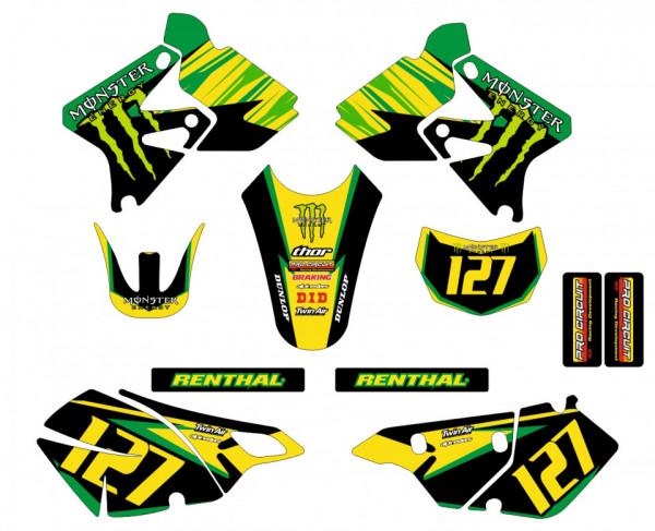Imagens Kit Autocolantes Para Suzuki DRZ 400 02-07