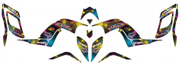 Imagens Kit Autocolantes Para Yamaha Raptor 700