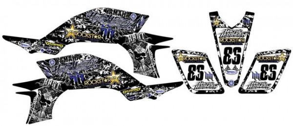 Imagens Kit Autocolantes Para Yamaha YFZ 450 03-08