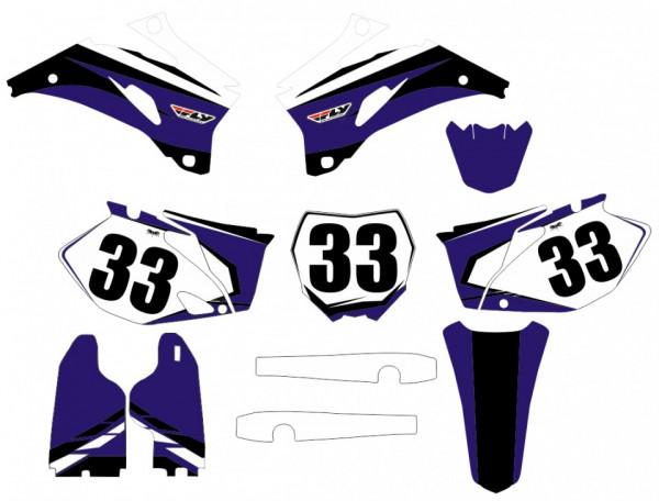 Kit Autocolantes Para Yamaha YZF 250 / 450 06-09