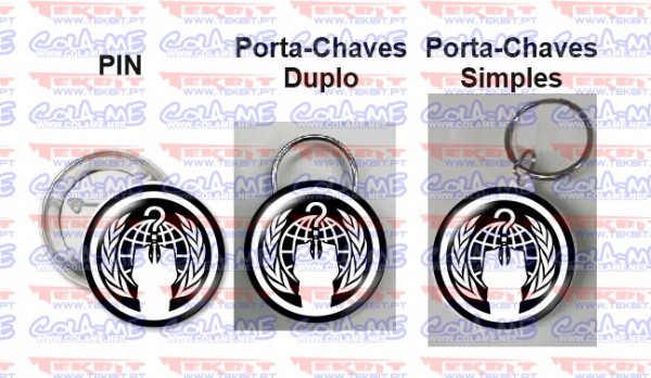 Pin / Porta Chaves - Anonymous