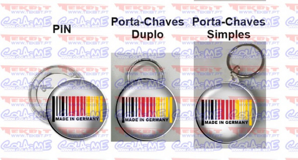 Pin / Porta Chaves - Made in Germany