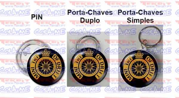 Imagens Pin / Porta Chaves - Mind Try of Drift