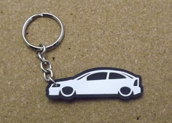 Porta Chaves com silhueta de Opel Astra G