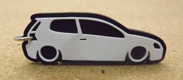 Porta Chaves com silhueta de Volkswagen Golf V / MKV