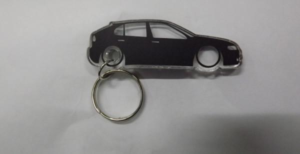 Porta Chaves de Acrílico com silhueta de Seat Leon 1M