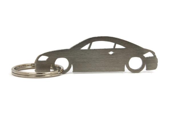 Porta Chaves em inox com silhueta com Audi TT 8N