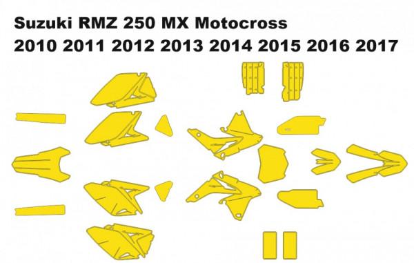 Suzuki RMZ 250 MX Motocross 2010 2011 2012 2013 2014 2015 2016 2017