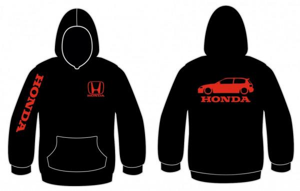 Imagens Sweatshirt com capuz para Honda Civic EG6