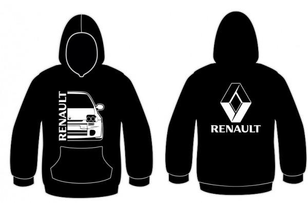Imagens Sweatshirt com capuz para Renault Clio 2 Faze 1