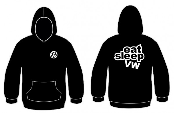 Imagens Sweatshirt com capuz para VW Eeat Sleep