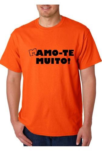 Imagens T-shirt  - Mamo-te Muito