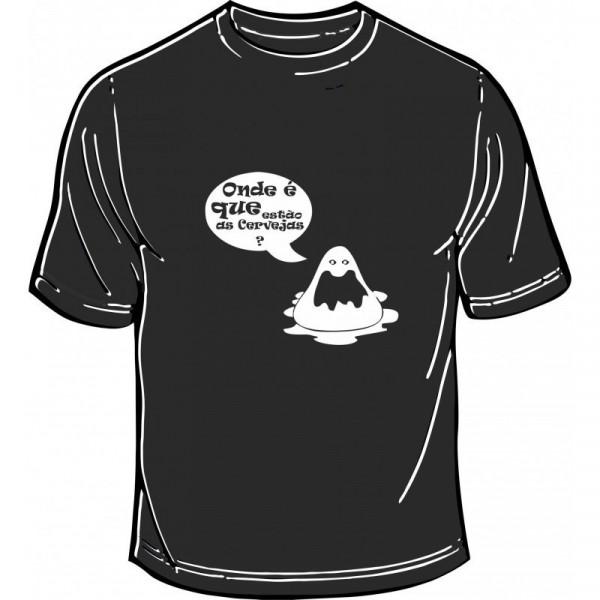 Imagens T-shirt - Onde é Que Estão As Cervejas?
