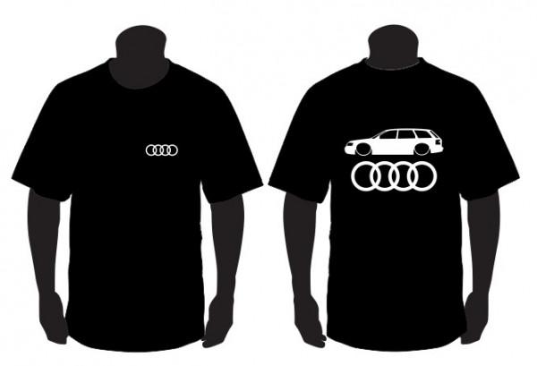 Imagens T-shirt para Audi A4 B6 Avant