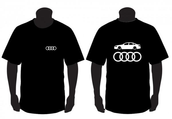 Imagens T-shirt para Audi A6 C6 Sedan