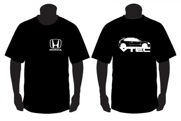 Imagens T-shirt para honda civic ek vtec
