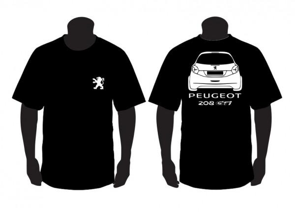 Imagens T-shirt para Peugeot 208