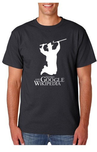 Imagens T-shirt  - Thanks google and Wikipedia